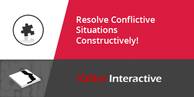 Resolve Conflictive Situations Constructively!