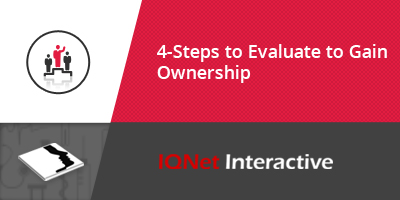 4-Steps to Evaluate And Shift Ownership